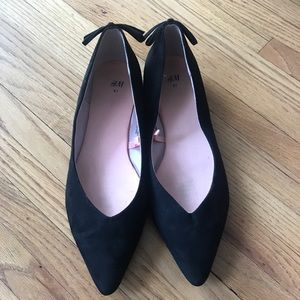 H&M Pointed Black Flats